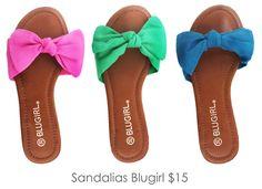 Blugirl sandalias ;)