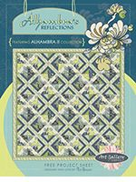 Alhambra's Reflection Quilt Pattern by Pat Bravo