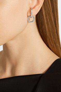 Sophie Buhai | Silver earrings | NET-A-PORTER.COM