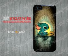 Stitch and Turtle iPhone 5c case Lilo and Stitch iPhone5c case Swimming Stitch iphone 5c Hard/Rubber case-Choose Your Favourite Color by MyCasesKing, $6.99