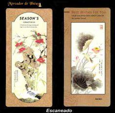 Dois Marcadores De Livro – Bookmark Season's 01. Frete Grátis - Carta Registrada
