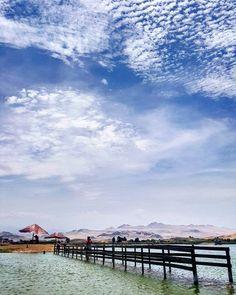 Um dos lugares mais bonitos de Huacho que conhecemos na campanha #HuachoMilenario: Laguna La Encantada. #viagemprimata #PrimataNoPeru #PrimataOK by viagemprimata