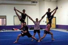 acrobatic stunt from Asbury Tumbling