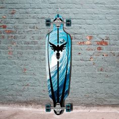 The Punked Pipeline Drop Through Longboard Complete is great for cruising. The medium concave helps with big tricks, pivots, slides, ollies.