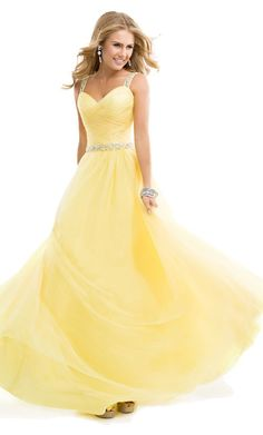 23 Best Yellow prom dresses images | Prom