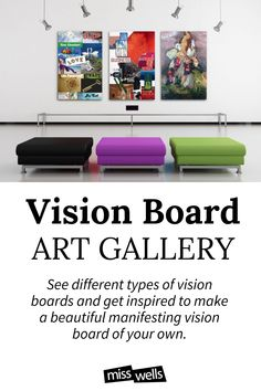 Make Beautiful Manifesting Vision Boards just like these! Click the pin & Sign up for the free course and materials Creating A Vision Board, Free Courses, Life Purpose, Big Picture, Digital Media, Life Goals, Dreaming Of You, Boards, Sign