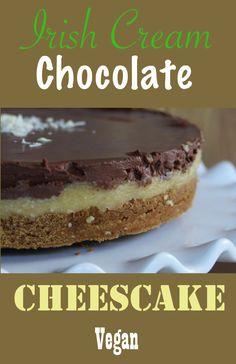 http://onegr.pl/1xDp8Qy #Vegan #Vegetarian #Cheesecake #IrishCream