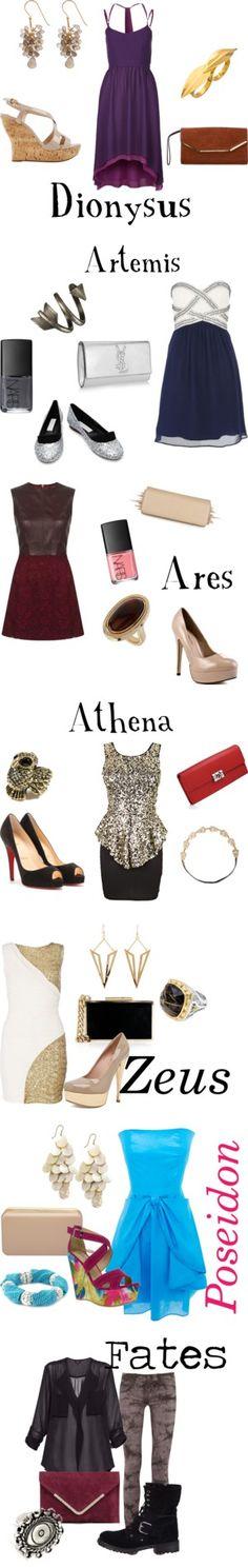 Greek Myth inspired clothes!