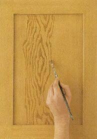 Oak Graining - How to