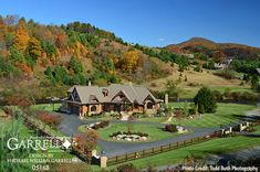 Plan Sweeping Views and Alternate Versions Abound Rustic House Plans, Cottage House Plans, Cottage Homes, Cabin Homes, Log Homes, Mountain House Plans, Mountain Homes, Walk Through Shower, Porch Entry