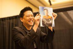 Garrett Wang Hal-Con 2014 - photo credit Dan Miner
