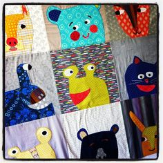 New class schedule will include this quilt, Giggle & Squeak! Are you on our email list? by crimsontate, via Flickr