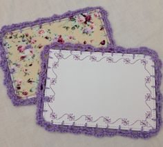 Fabric Postcard by Crafts at Fox Cottage