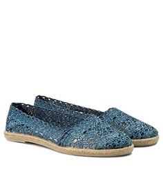 Espadrile dama crosetate cu talpa joasa de sfoara Espadrilles, Flats, Shoes, Fashion, Espadrilles Outfit, Loafers & Slip Ons, Moda, Zapatos, Shoes Outlet