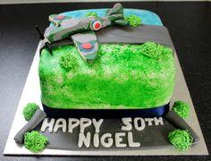Spitfire cake