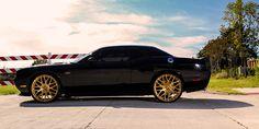 Cars Gallery | Dodge | Challenger | Black | Forgiato