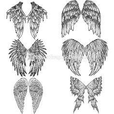 dibujos de alas de angel para colorear - Buscar con Google