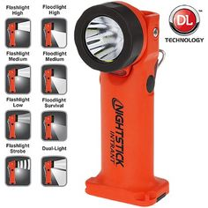 Get the NightStick INTRANT Intrinsically Safe Multi-Function Dual-Light Tilting Head Angle Light exclusively from TheFireStore! Firefighter Equipment, Firefighter Tools, Wildland Firefighter, Firefighter Shirts, Fire Equipment, Outdoor Power Equipment, Head Angles, Survival Mode, Survival Tools