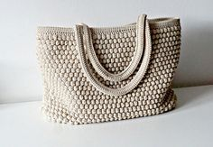 Hey, I found this really awesome Etsy listing at https://www.etsy.com/listing/224002101/crochet-tote-bag-in-48-colors-soft