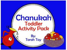 Chanukah Toddler Activity Pack (free!) It's a great Activity Pack to keep your Little Ones engaged over Chanukah. Not only is it educational, but extremely fun! Work on rote counting, pattering, color recognition, figure number recognition, writing and cutting skills.   Ohh... and it also has adorable images! Don't miss out on the latkes, dreidel, Menorah, Oil... Have a Happy Chanukah :)
