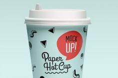 Second volume of our psd paper coffee hot cup template with a very versatile new paper cup design. You can easily...