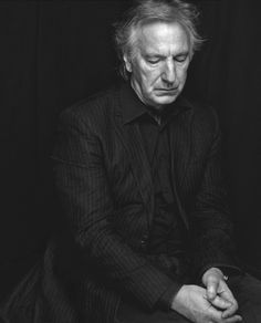 """R.I.P """"If only life could be a little more tender and art a little more robust."""" - Alan Rickman"""