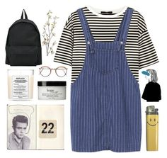 """""""lovers turn into nightmares, if they're not around --"""" by aesthetic-alien ❤ liked on Polyvore featuring Maison Margiela, philosophy, Pier 1 Imports, TIBI and Comme des Garçons"""