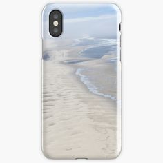 """""""Long sandy beach """" iPhone Case & Cover by Artlajf   Redbubble Iphone Wallet, Iphone 11, Iphone Case Covers, Pure Products, Beach, Nature, Prints, Art, Art Background"""