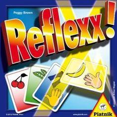 """Zu Spielbeginn werden vier Stapel mit jeweils vier Karten in den Farben rot, grün, blau und gelb in die Tischmitte gelegt. Spielziel ist, als erster Spieler eine Karte in jeder der vorhandenen Farben zu """"erschlagen"""". Dabei kommt es auf Tempo und Reaktionsvermögen, also auf gute """"Reflexe"""" an. Candy, Board Games, Red Color, Legends, Cards, Blue, Sweets, Candy Bars, Chocolates"""