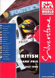 541GP - 1993 BRITISH GRAND PRIX #Britishgp #Silverstone #Senna
