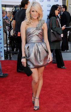 The dress is fantastic
