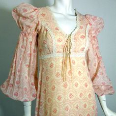 Renaissance style 1970s Gunne Sax dress from Dorothea's Closet Vintage on fab.com