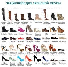 Картинки по запросу все виды обуви