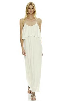 Wink Rene Maxi Dress in Natural - On Sale!