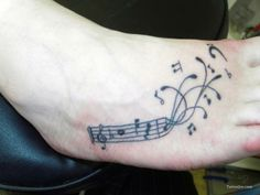 Notes on the Foot Tattoo