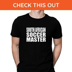 Teeburon South Africa Soccer Master T-Shirt - Cities countries flags shirts (*Amazon Partner-Link)