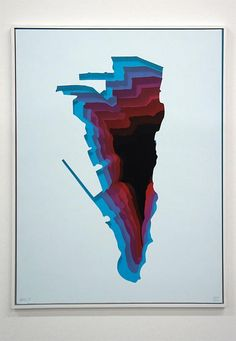 1010, Abyss_31, Size: 42 x 56 cm