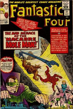 Fantastic Four # 31 by Jack Kirby & Chic Stone