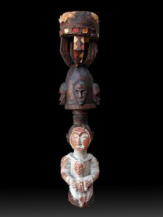 African Art-Africart-Art Africain-Arte Africana-Tribal Art-Masterpieces-Baga  BAGA Sitemu - Guinea  Tamburo rituale