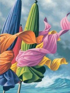 peintures de Claude Théberge