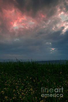 sunset, piatra neamt, romania