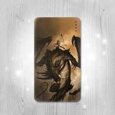 Dragon Rider Gadget Personalized Tech Gift Usb by Lantadesign