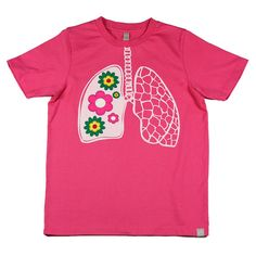 Fill your lungs with a breath of fresh flowers | CIRCUS 212 #tee #soft #vintage #tshirt #shirt #apparel #fashion #ribs #bones #heart #skeleton #cotton #cool #awesome #hip  #newyork #kids #SF #childrenswear #tee #shirt #hipster #hipsterkid #cute