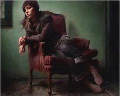 Fine Art and You: Casey Baugh | American Figurative Artist | Fashion Portraits