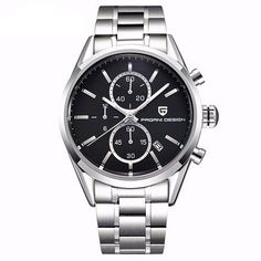 Cheap watch ice, Buy Quality watch screwdriver directly from China watch hand Suppliers: Reloj Hombre 2016 Dive Quartz Watches Leather & Stainless Steel Watches Men Top Brand Luxury Sport Watch Pagani Design 2513 Cheap Watches, Watches For Men, Men's Watches, Wrist Watches, Mens Watches Leather, Stainless Steel Watch, Sport Watches, Luxury Branding, Casual
