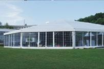 אוהל גדול עם דלתות זכוכית - http://www.bamot-achva.co.il/tent.html