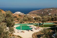 Hotel Kamaroti en Sifnos, Grecia