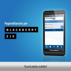 Disponibile l'APP PagineBianche per BlackBerry Z10
