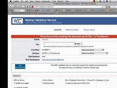 How To Validate A Web Page