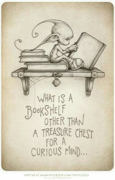 This design is the ultimate tattoo for me...  I use to see a little guy like this when I was little..  The overworkings of a child's imagination I suppose.  Reading is my love,  this tattoo was made for me.
